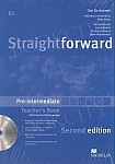 Straightforward 2nd ed. Pre-Intermediate Teacher's Book (Pack)