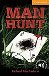 Man Hunt Book with downloadable audio