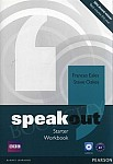 Speakout Starter A1 Workbook without Answer Key with Audio CD