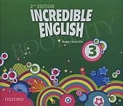 Incredible English 3 (2nd edition) Class CD (3)