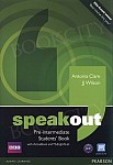 Speakout Pre-Intermediate B1 Student's Book plus Active Book plus MyEnglishLab (z kodem)
