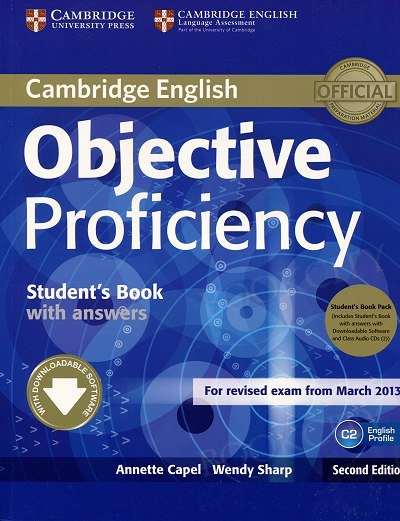 Objective Proficiency (2nd Edition) Student's Book with Answers with Downloadable Software and Class Audio CDs (2)