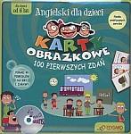 Angielski dla dzieci. Karty obrazkowe - 100 pierwszych zdań