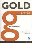 Gold Pre-First książka nauczyciela