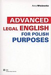 Advanced Legal English for Polish Purposes