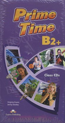 Prime Time B2+ Class Audio CDs with Tests (set of 8)