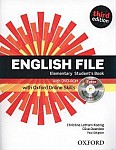 English File Elementary (3rd Edition) (2012) Student's Book with iTutor and Online Skills