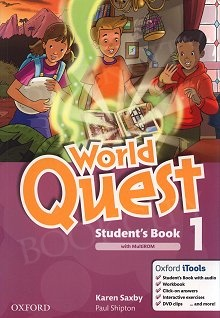 World Quest 1 Student's Book Pack