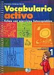 Vocabulario activo 1 fichas con ejercicios fotocopiables Ksiażka+CD