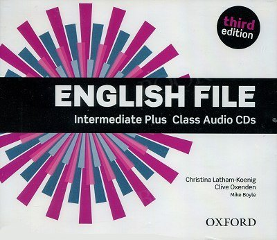 English File Intermediate Plus (3rd Edition) (2014) Class DVD