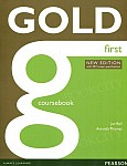 Gold First (New Edition with 2015 exam specifications) Coursebook with online audio