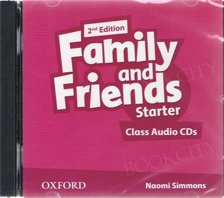 Family and Friends Starter (2nd edition) Class CD (2)
