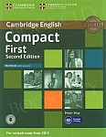 Compact First (2nd edition 2015) Workbook with answers with CD
