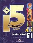 The Incredible 5 Team 1 Teacher's Book interleaved (+ kod: Interactive Whiteboard Software)