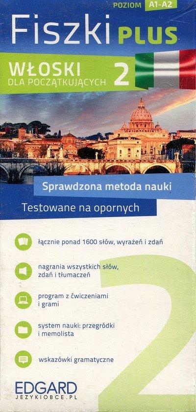 Włoski Fiszki PLUS dla początkujących 2 Fiszki + program + mp3 online