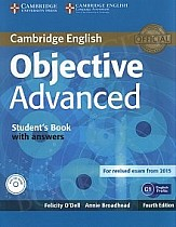 Objective Advanced 4th Edition Student's Book with Answers & CD-ROM