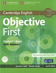 Objective First (4th Edition) Edition Student's Book without Answers with CD-ROM