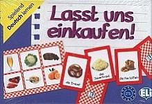 Lasst uns einkaufen! Gra językowa z polską instrukcją i suplementem