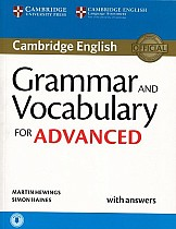 Grammar and Vocabulary for Advanced Book with Answers & Audio Download