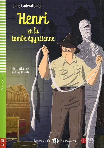 Henri et la tombe égyptienne Książka + audio mp3