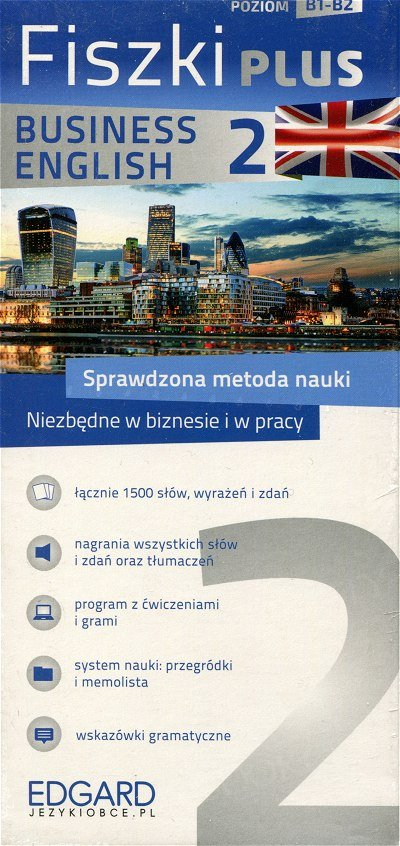 Angielski Fiszki PLUS Business English 2 Fiszki + program + nagrania mp3 online