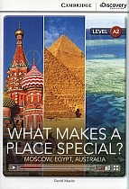 What Makes a Place Special? Moscow, Egypt, Australia Book with Online Access