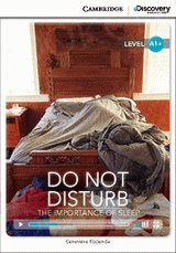 Do Not Disturb: The Importance of Sleep Book with Online Access