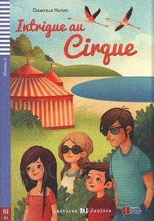 Intrigue au cirque Książka + audio mp3