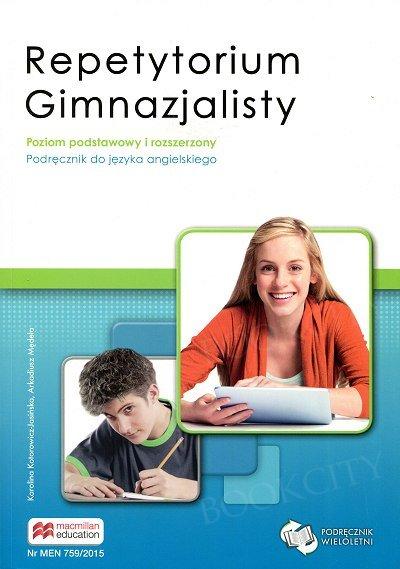 Repetytorium Gimnazjalisty. Język angielski podręcznik