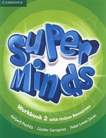 Super Minds 2 Workbook with Online Resources