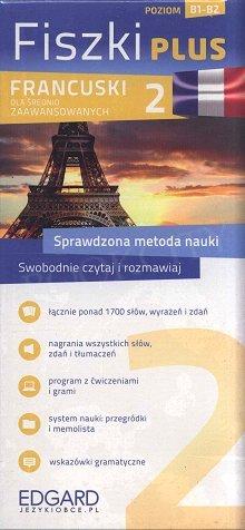 Francuski Fiszki PLUS dla średnio zaawansowanych 2 Fiszki + program + mp3 online