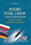 Wzory pism, umów i innych dokumentów w języku polskim, angielskim i niemieckim