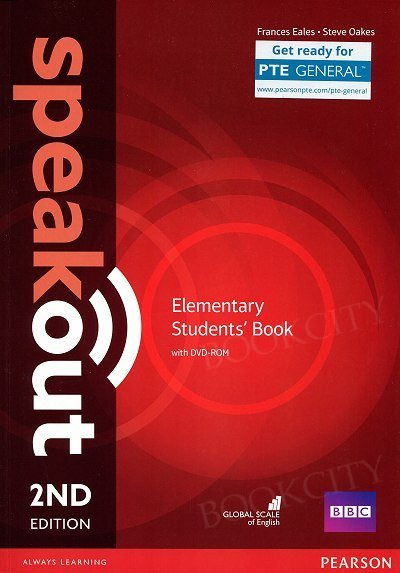 Speakout Elementary (2nd edition) Student's Book with DVD-ROM (bez kodu)