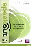 Speakout Pre-Intermediate (2nd edition) Teacher's Book with Resource & Assessment Disc