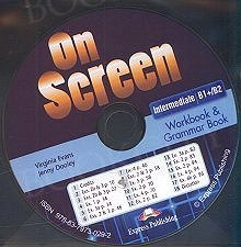 On Screen Intermediate B1+/B2 CD Workbook & Grammar Book Audio CD