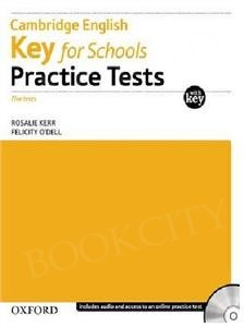 Cambridge English Key for Schools Practice Tests Tests with Key and Audio CD Pack