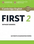 Cambridge English First 2 FCE (2016) Book without answers