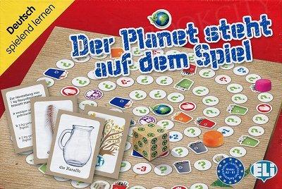 Der Planet steht auf dem Spiel Gra językowa z polską instrukcją i suplementem