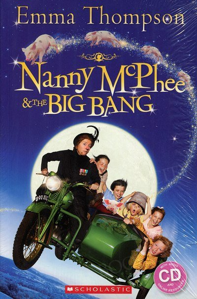 Nanny McPhee and the Big Bang (poziom 3) Reader + Audio CD