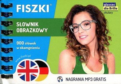 Fiszki Słownik Obrazkowy - język angielski + niemiecki