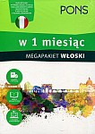 Włoski w 1 miesiąc Megapakiet Książka+CD