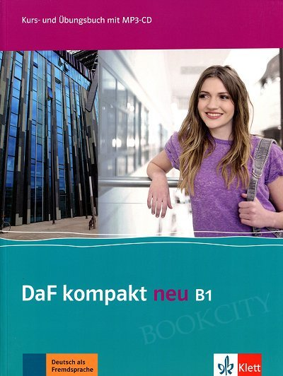 DaF Kompakt Neu B1 Kurs- und Übungsbuch + CD mp3