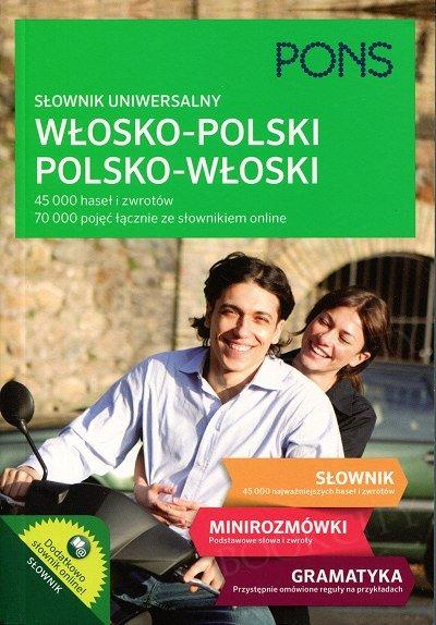 Słownik uniwersalny włosko-polski/polsko-włoski