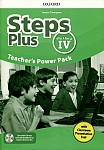 Steps Plus dla klasy 4 Teacher's Power Pack z kodem dostępu do Classroom Presentation Tool