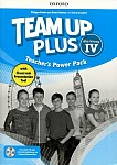 Team Up Plus klasa 4 Teacher's Power Pack z kodem dostępu do Classroom Presentation Tool