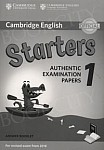 Cambridge English Starters 1 (2017) Answer Booklet