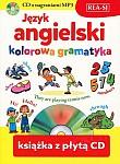 Język angielski - kolorowa gramatyka Książka + CD