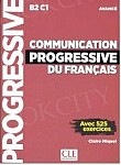 Communication progressive du francais. Avance 3ed Książka + CD MP3