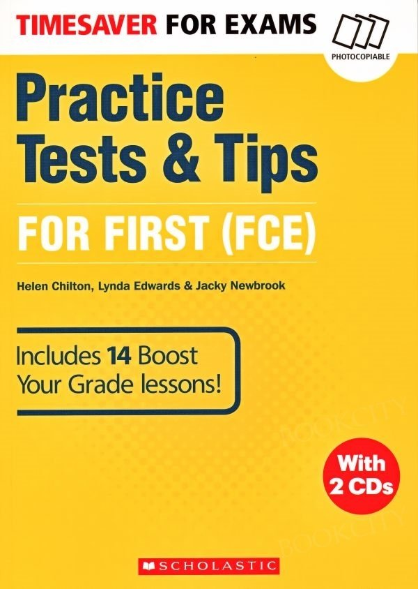 Timesaver for Exams: Practice Tests & Tips for First (FCE) Książka+CD