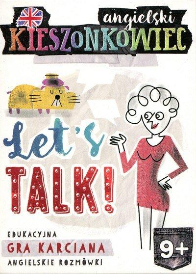 Kieszonkowiec angielski Let's Talk (9+) Gra karciana